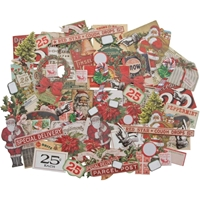 Εικόνα του Idea-Ology Ephemera Pack - Christmas Snipets