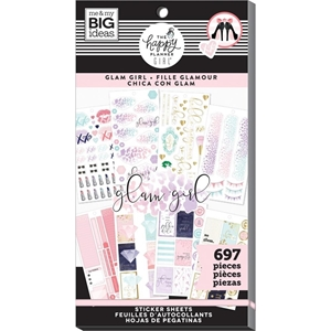 Picture of Create 365 Happy Planner Sticker Value Pack - Glam Girl