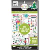 Εικόνα του Create 365 Happy Planner Sticker Value Pack - Christmas Joy Mini