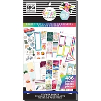 Εικόνα του Create 365 Happy Planner Sticker Value Pack - Color Story 4