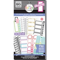 Εικόνα του Create 365 Happy Planner Sticker Value Pack - Monthly Colorful Boxes