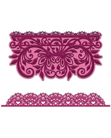 Εικόνα του Heartfelt Creations Cut & Emboss Dies - Sweetheart Border