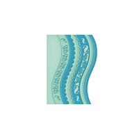 Εικόνα του Spellbinders Borderabilities Card Creator Dies - A2 Curved Borders 1