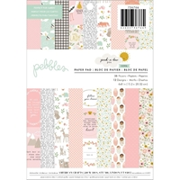 "Εικόνα του Pebbles Single-Sided Paper Pad 6""X8"" - Peek-A-Boo You Girl"