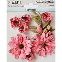 Εικόνα του 49 And Market Χάρτινα Λουλούδια Enchanted Petals - Flamingo