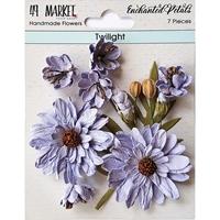 Εικόνα του 49 And Market Χάρτινα Λουλούδια Enchanted Petals - Twilight