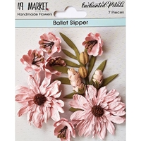 Εικόνα του 49 And Market Χάρτινα Λουλούδια Enchanted Petals - Ballet Slipper