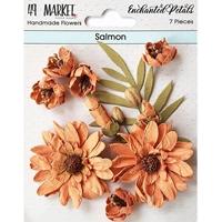 Εικόνα του 49 And Market Χάρτινα Λουλούδια Enchanted Petals - Salmon