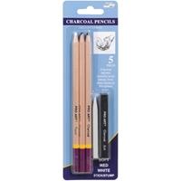 Εικόνα του Pro Art Charcoal Pencils - Μολυβια Καρβουνου