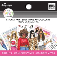 Εικόνα του Happy Planner Tiny Sticker Pad - Brights