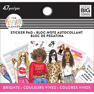 Picture of Happy Planner Tiny Sticker Pad - Brights