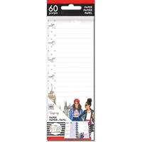 Εικόνα του Happy Planner Mini Half Sheet Fill Paper - Rongrong Lined