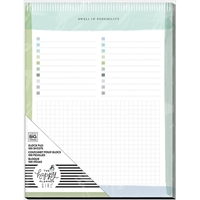 "Εικόνα του Happy Planner Block Pad 9.25""X7"" - Homebody"
