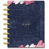 Εικόνα του Happy Planner 12-Month Dated Deluxe Classic Planner - Stargazer Dreaming