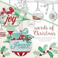 Εικόνα του KaiserColour Perfect Bound Coloring Book - Words Of Christmas