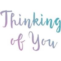Εικόνα του Couture Creations Σφραγίδα Μίνι - Thinking Of You