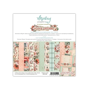 Picture of Mintay Papers Μπλοκ Scrapbooking Love Letters 6''x6''