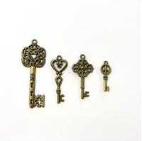 Εικόνα του Μεταλλικά Κλειδιά Αντικέ - Set 4