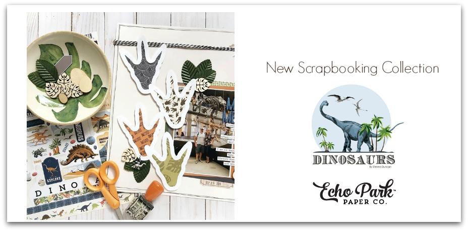 Dinosaur Scrapbooking Kit