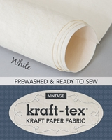 Εικόνα του Kraft-Tex Kraft Paper Fabric - White