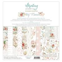 Εικόνα του Mintay Papers Συλλογή Χαρτιών Scrapbooking Tiny Miracle 12''x12'