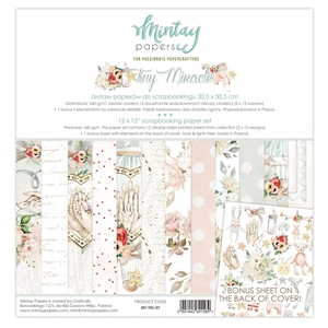 Picture of Mintay Papers Συλλογή Χαρτιών Scrapbooking Tiny Miracle 12''x12'