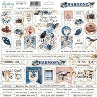 Εικόνα του Mintay Papers Harmony Chipboard Αυτοκόλλητα