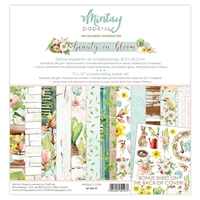 Εικόνα του Mintay Papers Συλλογή Χαρτιών Scrapbooking Beauty in Bloom  12''x12'