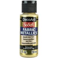 Εικόνα του SoSoft Fabric Metallics Ακρυλικο Χρώμα για Ύφασμα 59ml - Glorious Gold