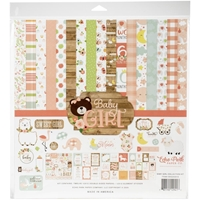 "Εικόνα του Echo Park Collection Kit 12""X12"" - Baby Girl"