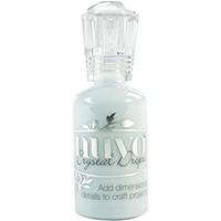 Εικόνα του Nuvo Crystal Drops Gloss- Duck Egg Blue