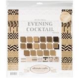 """Εικόνα του Ultimate Crafts Μπλοκ Scrapbooking Διπλής Όψης 12""""X12"""" - The Ritz Evening Cocktail"""