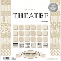 """Εικόνα του Ultimate Crafts Μπλοκ Scrapbooking Διπλής Όψης 12""""X12"""" - The Ritz Evening Theater"""