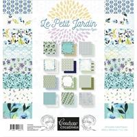 """Εικόνα του Couture Creations Μπλοκ Scrapbooking Διπλής Όψης 12""""X12"""" - Le Petit Jardin"""