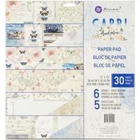 """Εικόνα του Prima Marketing Μπλοκ Scrapbooking Διπλής Όψης 12""""X12"""" - Capri"""