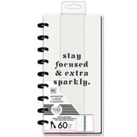Εικόνα του Happy Planner Half Sheet Notebook - Glam Girl