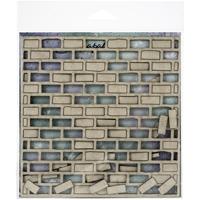 Εικόνα του Scrapaholics Laser Cut Chipboard 1.8mm - Brick Panel