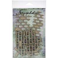 Εικόνα του Scrapaholics Laser Cut Chipboard 1.8mm - Brick Pieces