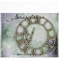 Εικόνα του Scrapaholics Laser Cut Chipboard 1.8mm - Small Roman Clock