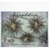 Εικόνα του Scrapaholics Laser Cut Chipboard 1.8mm - Dandelions