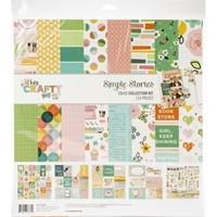 """Εικόνα του Simple Stories Collection Kit 12""""X12"""" - Hey, Crafty Girl"""