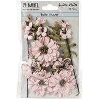 Εικόνα του 49 And Market Χάρτινα Λουλούδια Garden Petals - Ballet Slipper