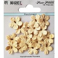 Εικόνα του 49 And Market Χάρτινα Λουλούδια Pixie Petals - Parchment