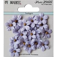 Εικόνα του 49 And Market Χάρτινα Λουλούδια Pixie Petals - Twilight