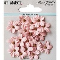 Εικόνα του 49 And Market Χάρτινα Λουλούδια Pixie Petals - Ballet Slipper