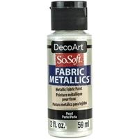 Εικόνα του SoSoft Fabric Metallics Ακρυλικο Χρώμα για Ύφασμα 59ml - Pearl