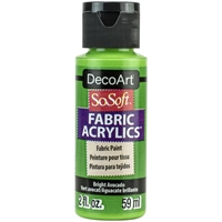 Εικόνα του SoSoft Fabric Acrylic Paint - Bright Avocado