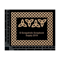 Εικόνα του Scrapaholics Laser Cut Chipboard 1.8mm - Celtic Frame