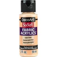 Εικόνα του SoSoft Ακρυλικό Χρώμα για Ύφασμα 59ml - Peaches & Cream
