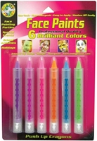Εικόνα του Χρώματα Face Paint Push-Up Crayons Brilliant